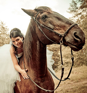 Аренда лошадей на свадьбу
