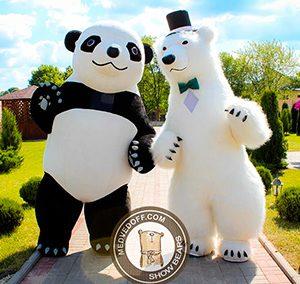Medvedoff.com — Шоу танцующих медведей